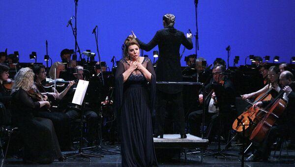 Оперная певица Мария Гулегина, архивное фото