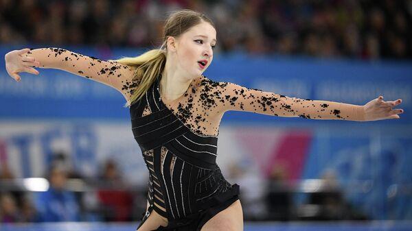 Фигуристка Мария Сотскова