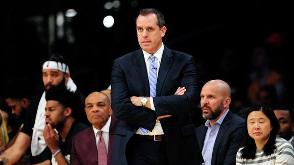 Тренер команды НБА Лос-Анджелес Лейкерс Фрэнк Вогель