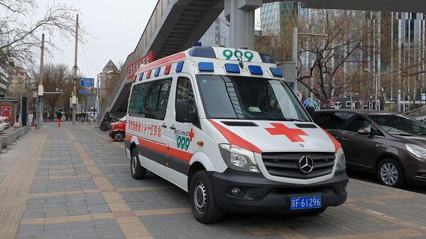 Автомобиль медицинской помощи в Китае