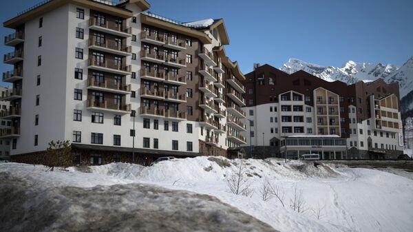Гостиницы горного курорта Роза хутор в Красной поляне