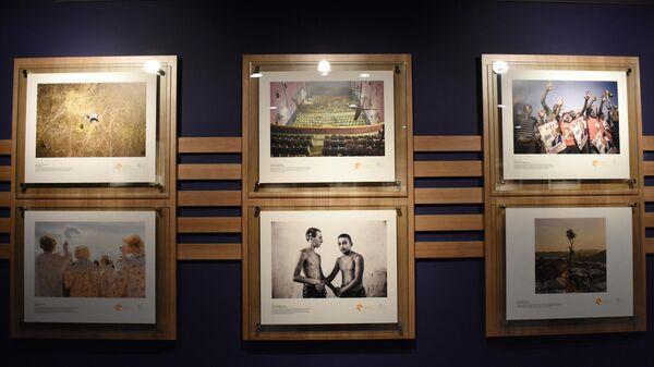 Выставка работ победителей Международного конкурса фотожурналистики имени Андрея Стенина в Анкаре