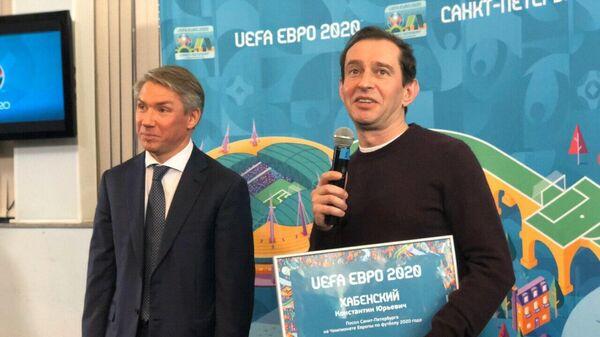 Алексей Сорокин и Константин Хабенский
