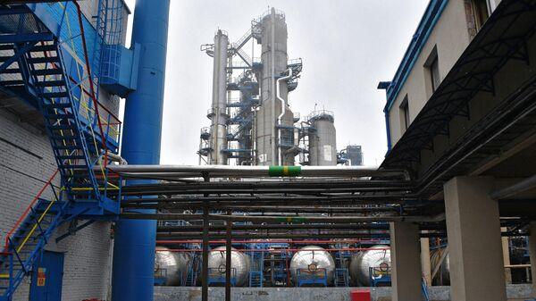Комплекс гидрокрекинга тяжелых нефтяных остатков Мозырского нефтеперерабатывающего завода