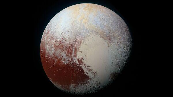 Ледяное сердце Плутона