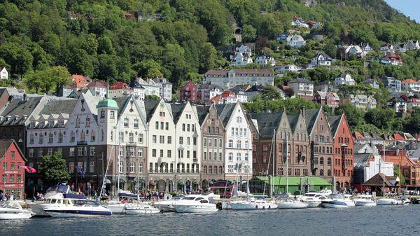 Норвежский город Берген