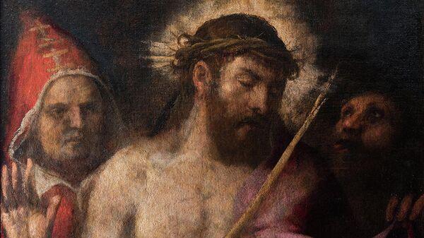 Тициан. Се, Человек!. 1565-1570. Холст, масло.