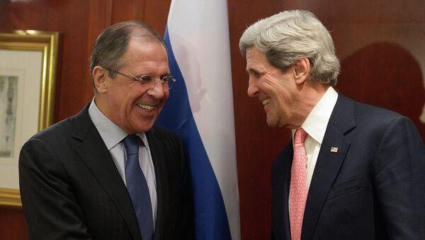 Сергей Лавров и Джон Керри, архивное фото