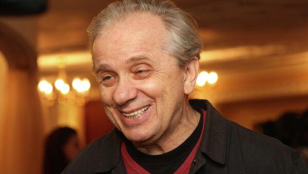 Актер Евгений Стеблов на праздновании 20-летия театра Et Cetera в Москве. Архив
