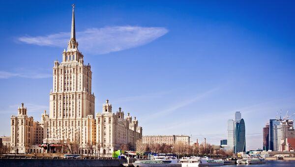 Гостиница Украина в Москве, архивное фото