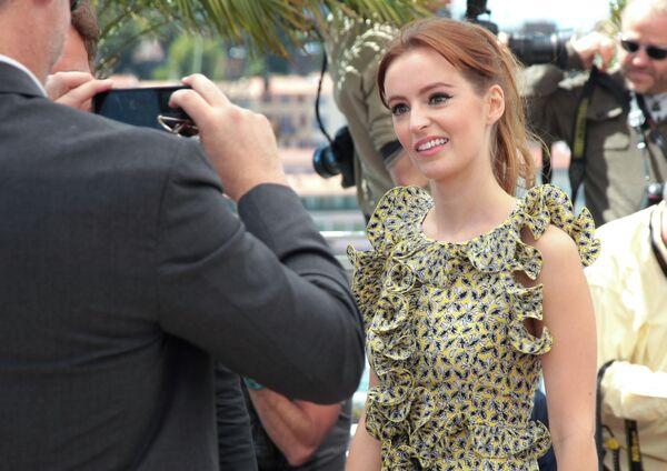 Актриса Ана О'Райли на 66-ом Каннском кинофестивале