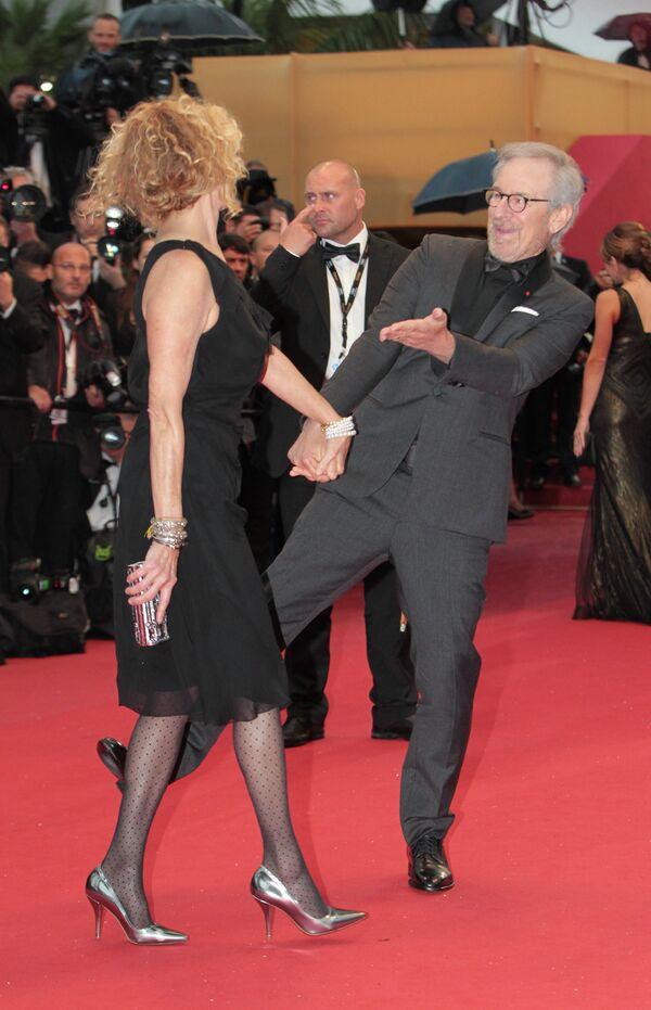 Стивен Спилберг и Кейт Кэпшоу на 66-ом Каннском кинофестивале