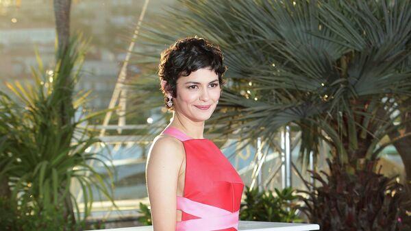 Актриса Одри Тоту, закрытие 66-го Каннского кинофестиваля
