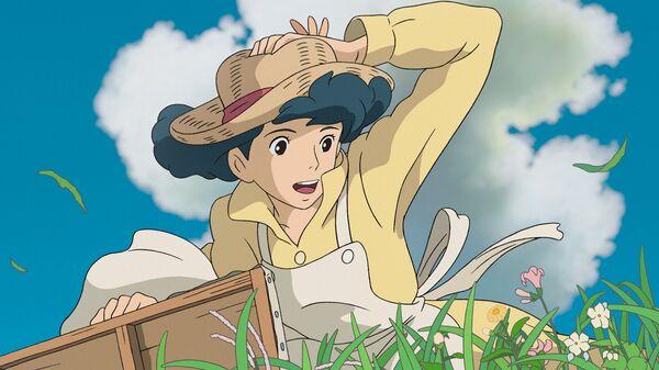 Кадр из анимационного фильма Ветер крепчает. Архив