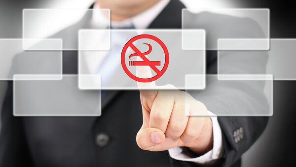 Табличка Курение запрещено
