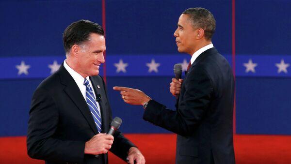 Вторые предвыборные дебаты Барака Обамы и Митта Ромни