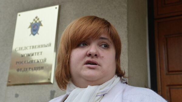 Адвокат Сергея Удальцова Виолетта Волкова. Архивное фото