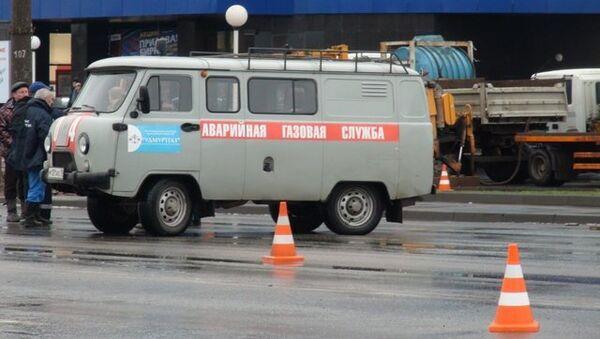 Авария на магистральном газопроводе в Ижевске