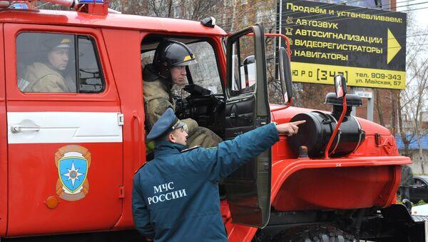 В Ижевске прорвало магистральный газопровод