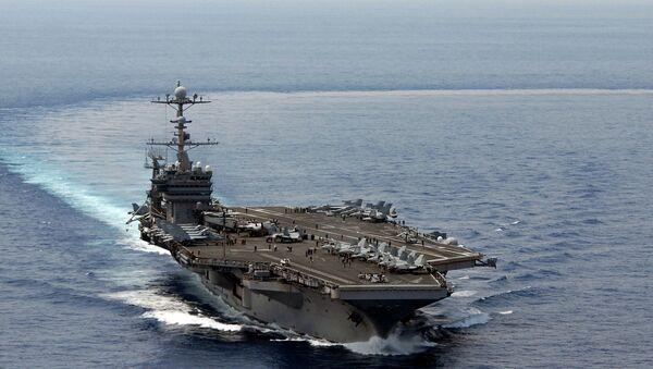 Атомный авианосец США Джордж Вашингтон