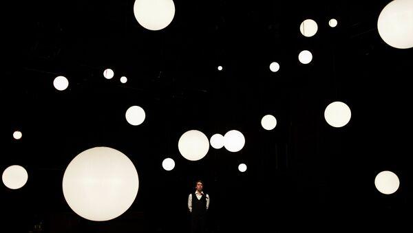 Сцена из спектакля Люка Персеваля Вишневый сад