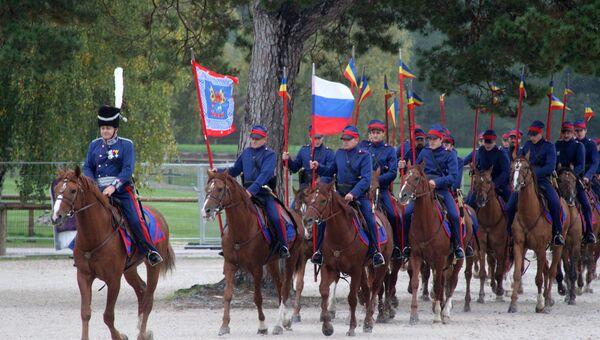 Донские казаки - участники похода Москва - Париж