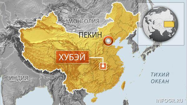Китайская провинция Хубэй