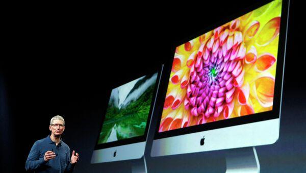 Презентация новых моделей настольных компьютеров-моноблоков iMac