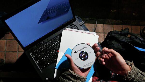 Установочный диск операционной системы Windows 8