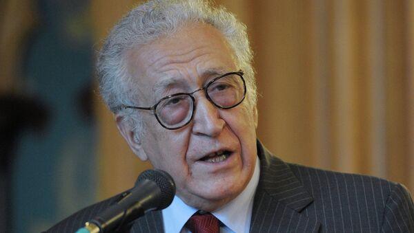 Экс-спецпосланник ООН по Сирии Л. Брахими. Архивное фото