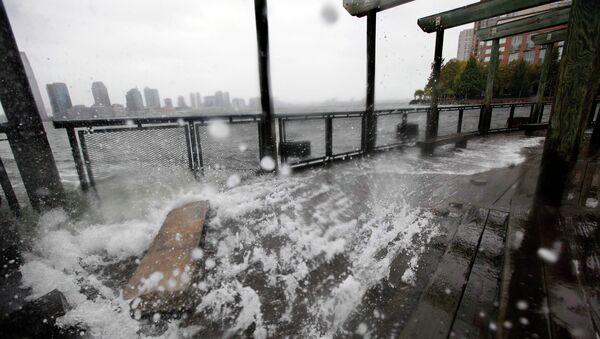 Ураган Сэнди в  Нью-Йорке