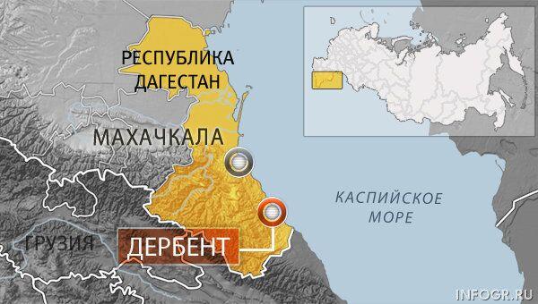 Карта Дербента. Архивное фото