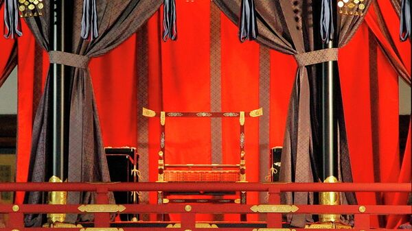 Трон императора