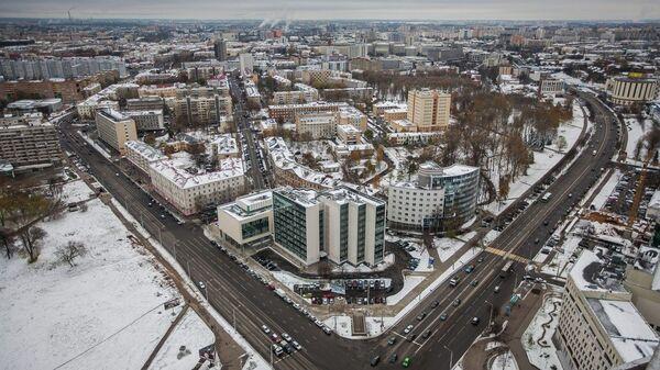 Вид на Минск. Архивное фото