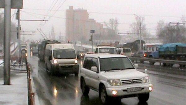 Дорожная ситуация в Иркутске