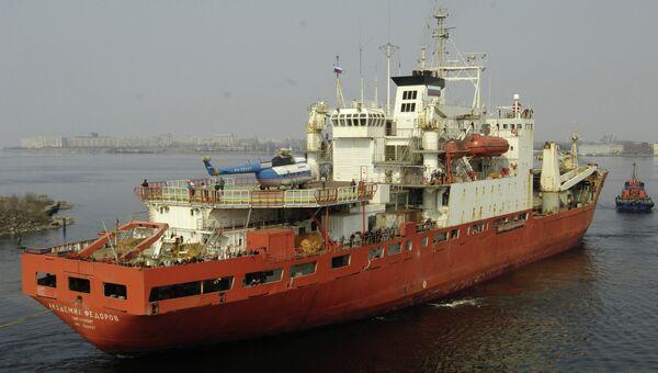 Научно-экспедиционное судно «Академик Федоров». Архивное фото