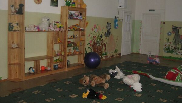 Игровая комната в доме ребенка в подмосковной Можайской колонии