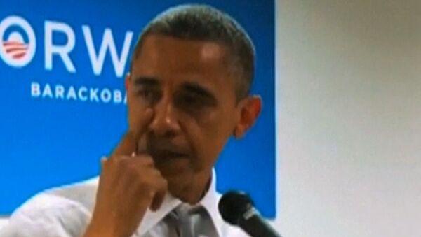 Барак Обама прилюдно расплакался