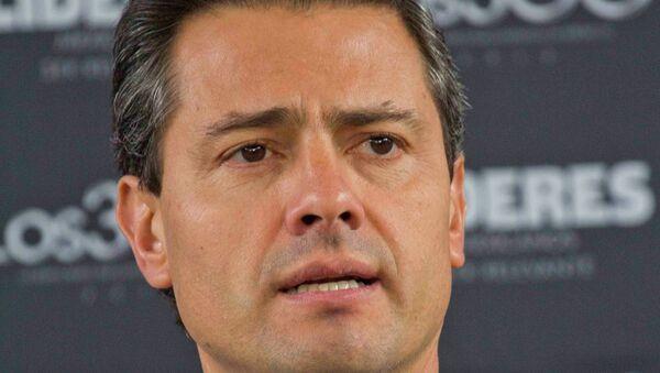 Президент Мексики Энрике Пенья Ньето. Архив