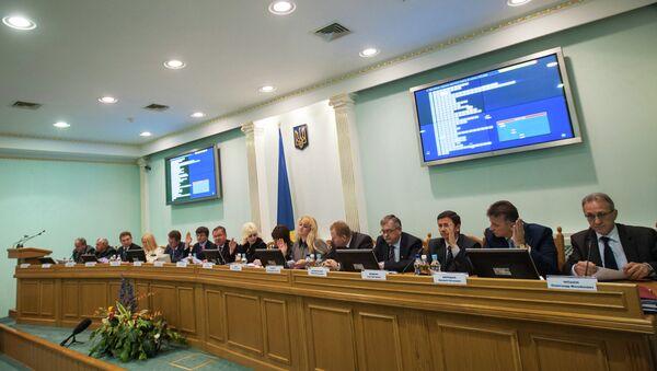 Работа ЦИК Украины. Архивное фото