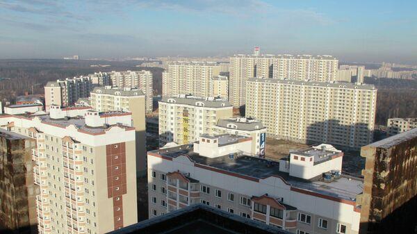 Строительство жилого квартала Бутово Парк 2