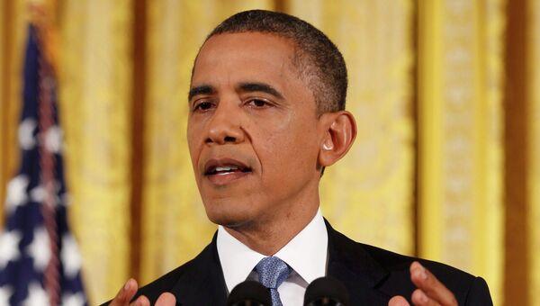 Обама на первой пресс-конференции после переизбрания на второй срок