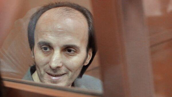 Юсуп Темерханов, обвиняемый в убийстве бывшего полковника Юрия Буданова. Архивное фото