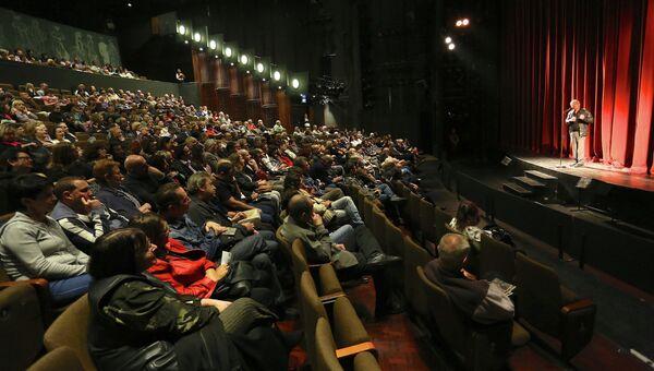 Фестиваль кино, архивное фото