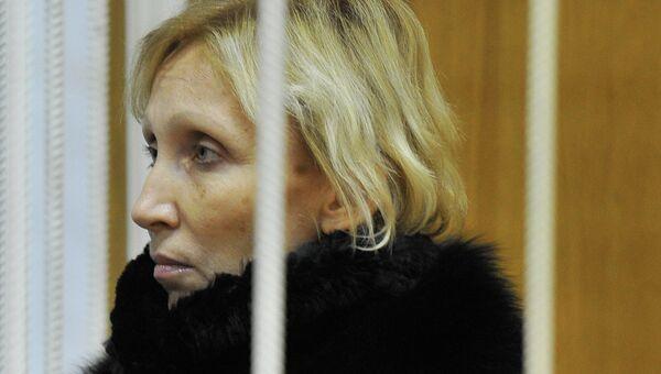 Заседание суда по делу А.Елькина и Ю.Ротановой, архивное фото