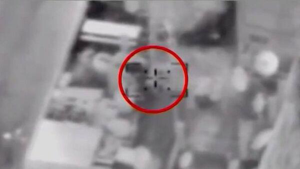 Израильская ракета попала в офис Russia Today в Газе. Кадры авиаудара
