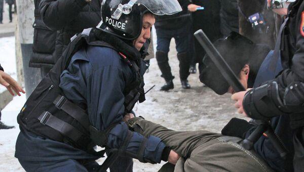 Массовые беспорядки в Казахстане. Архивное фото