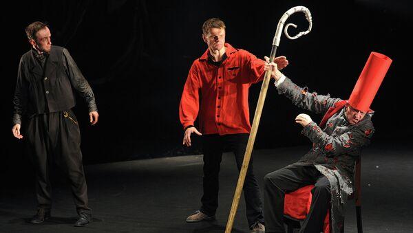 Спектакль Божественная комедия на сцене Малого театра