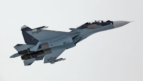 Истребитель Су-30 СМ. Архивное фото