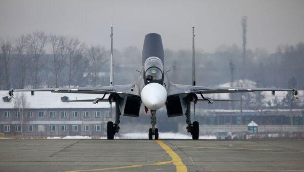 Истребитель Су-30СМ. Архив